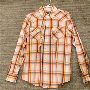 ON western shirt M